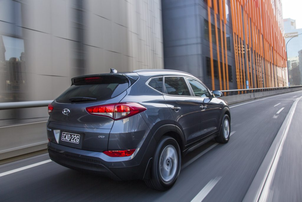 2016 Hyundai Tucson Elite. Photo: Contributed