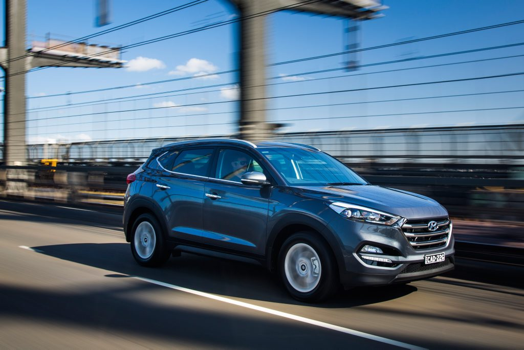 TUCSON TRAVELS: The five-seat mid-size Hyundai SUV is selling very well since its 2015 introduction, and is hot on the heels of class-leading Mazda CX-5