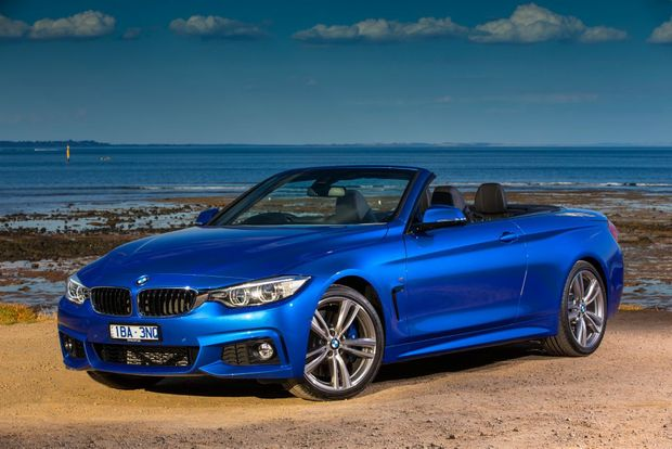 BMW 4 Series Convertible. Photo: Mark Bean.