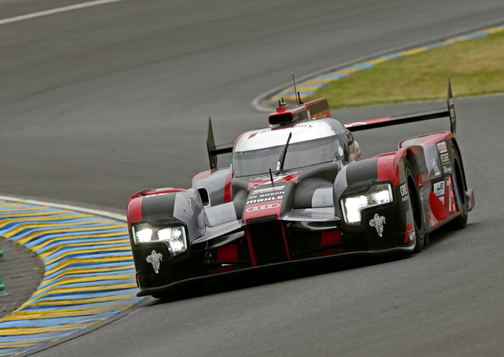 2016 Audi R18 from Audi Sport Team Joest ahead of the Le Mans 24 Hours. Photo: Contributed
