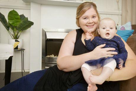 Alexandra Dean, 25 has been seeking medical treatment overseas for her daughter Kelsey, 5 months.