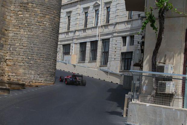 Baku Grand Prix street circuit, Azerbaijan. Photo: Majid Aliyev