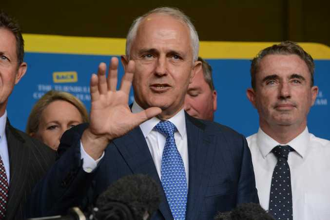Sitting Prime Minister Malcolm Turnbull. The outcome of Saturday's election will either see a majority LNP government returned to power or a hung parliament.