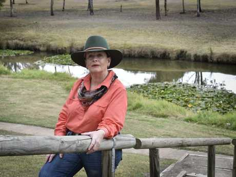 Oakey resident Dianne Priddle.