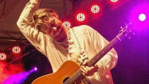 ON STAGE: Darren Coggan pays tribute to Cat Stevens for one day only at Jetty Theatre.