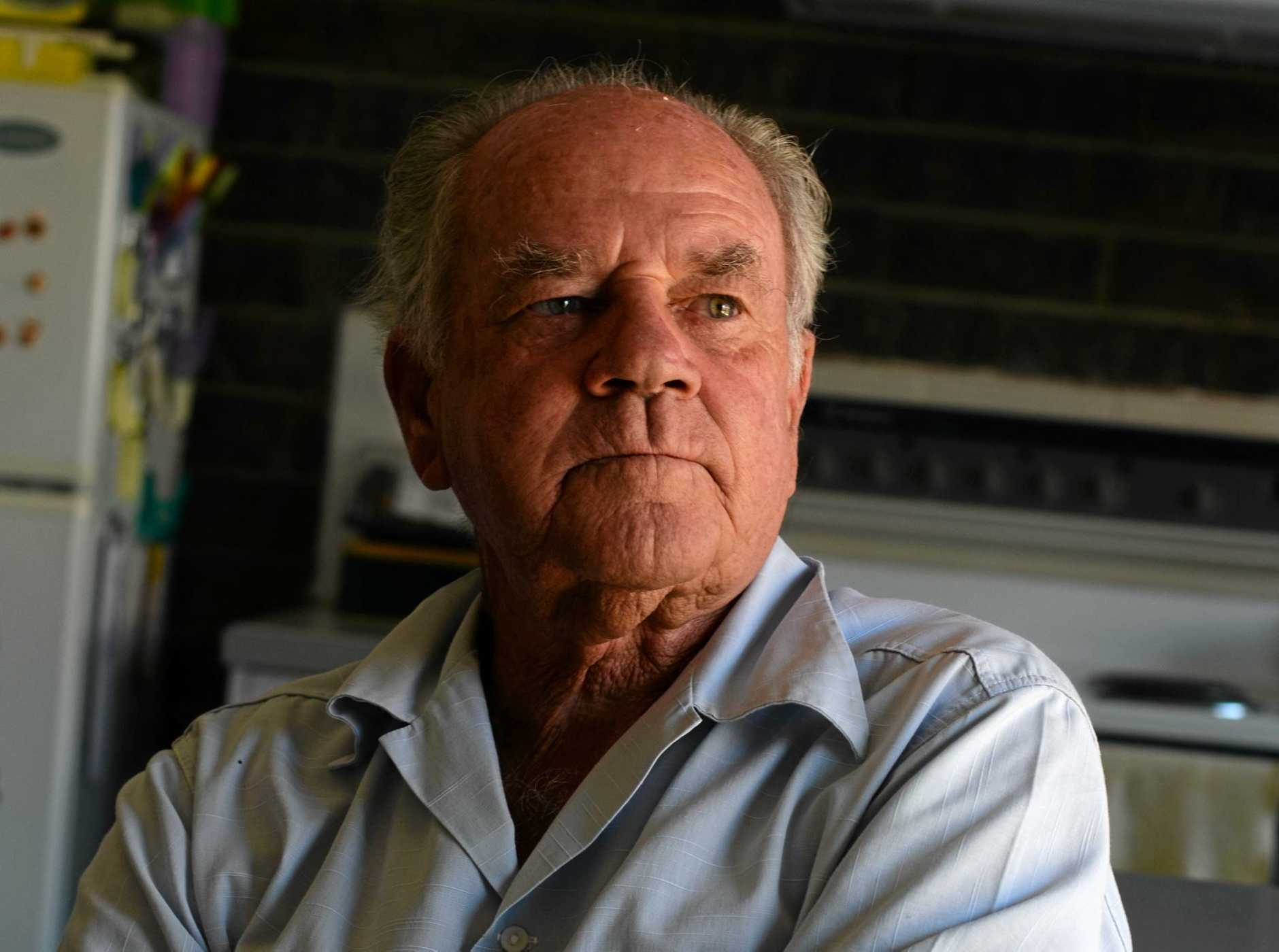 CAB TALK: Doug MacDonald reflects on his time as a taxi driver.  Photo: Scottie Simmonds / NewsMail