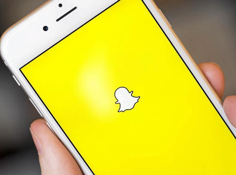 Social media app Snapchat. Contributed