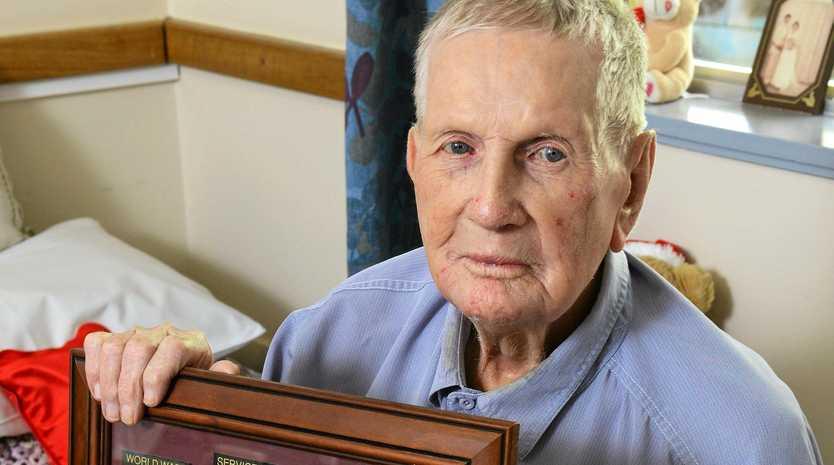 FAREWELL: Ipswich said farewell yesterday to one of the last surviving Rats of Tobruk Vernon Hansen of Brassall.