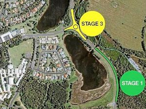 Road to reopen after stage 3 completion of Ballina roundabout
