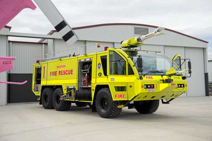 SAFETY CONCERN: The United Firefighters Union says Coffs Harbour Airport is at risk of losing its firefighting service.