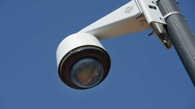 CCTV security camera. Photo: Chris Ison / The Morning Bulletin