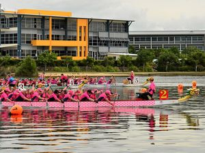 Dragons breathe fire into cause for breast cancer survivors