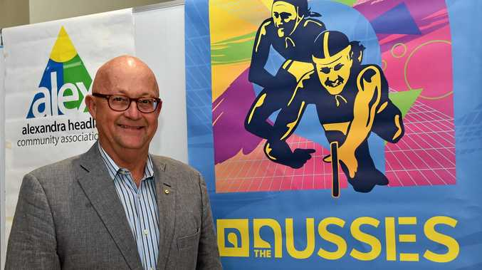 Chair of the Sunshine Coast Events Board and Director of Surf Life Saving Australia, Ralph Devlin.