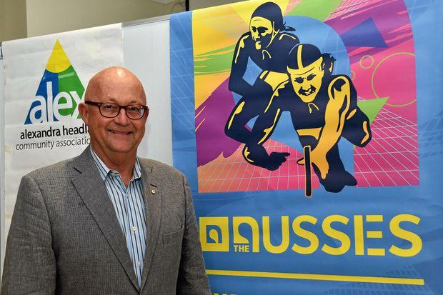 Chair of the Sunshine Coast Events Board and Director of Surf Life Saving Australia, Ralph Devlin.