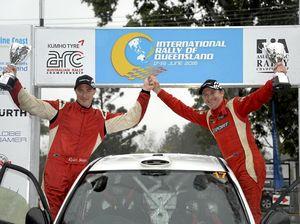 Smart comeback from Ryan at Australian rally on Coast