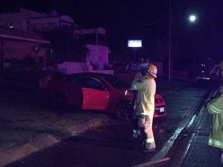 Crews on scene at Miller St, Bargara.