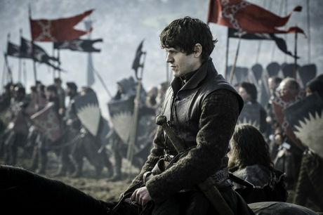 Iwan Rheon as Ramsay Bolton in a scene from season six episode nine of Game of Thrones.