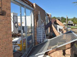 Mooloolaba storm cleanup begins