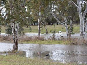 Flood works finished at Rosewood