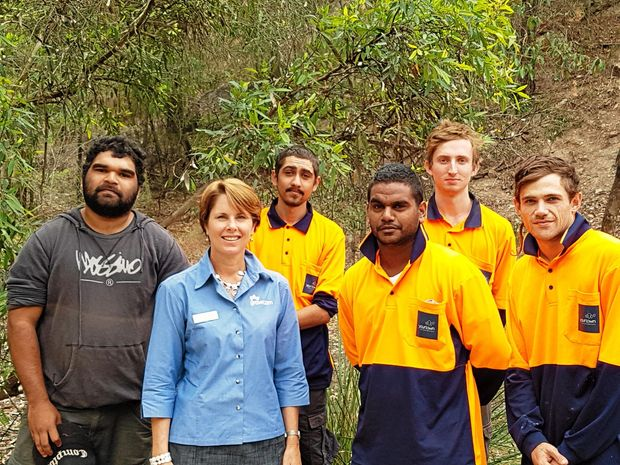 NEW SKILLS: QAWN's Michelle Templin visits yourtown's Skilling Queenslanders for Work participants to talk about the work expectations of agriculture employers. Michelle is part of QAWN.