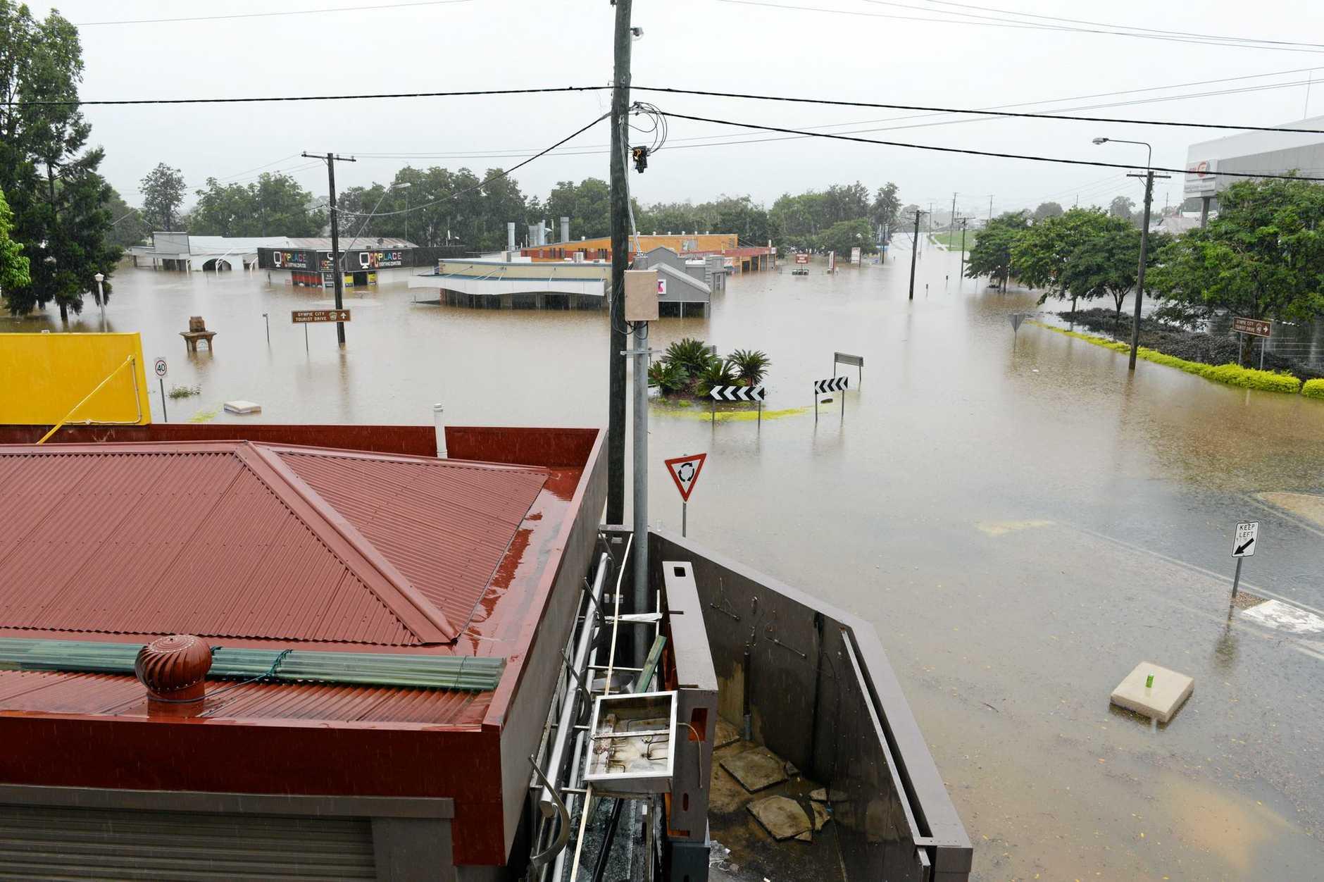 Gympie Flood 2013 February.