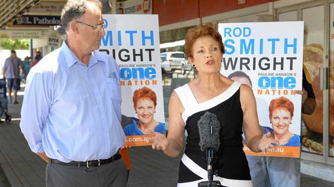 FIGHTING: Pauline Hanson and One Nation will be preferenced last by the major parties but Ms Hanson is not surprised.