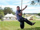 Byron Shire Mayor Simon Richardson pictured at The 2013 Falls Festival site, Yelgun. Photo Patrick Gorbunovs / The Northern Star