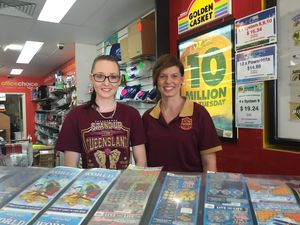 Unclaimed $1.5m lotto ticket sold at Gladstone news agency