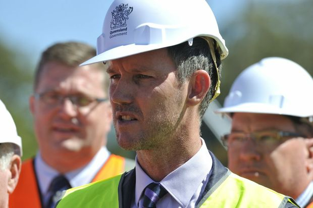 Queensland Energy Minister Mark Bailey.