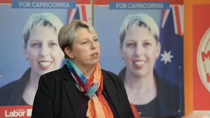 Leisa Neaton campaign launch. Photo Allan Reinikka / The Morning Bulletin