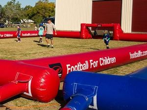 Football For Children returns to Boyne Island and Tannum