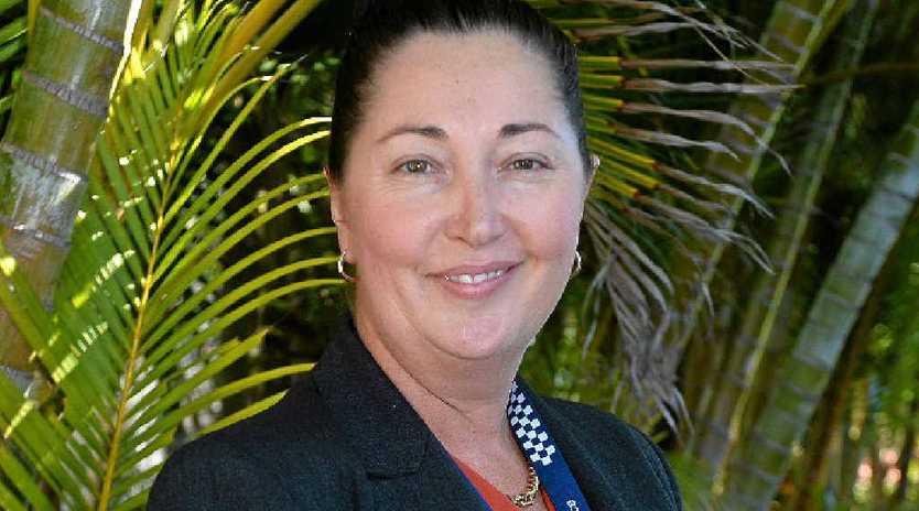 Guest speaker Detective Inspector Nikki Colfs shared her career journey and her tips for leadership.