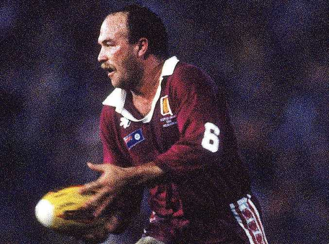 THE KING: Maroons legend Wally Lewis has had several memorable moments in Game II of the State of Origin series.