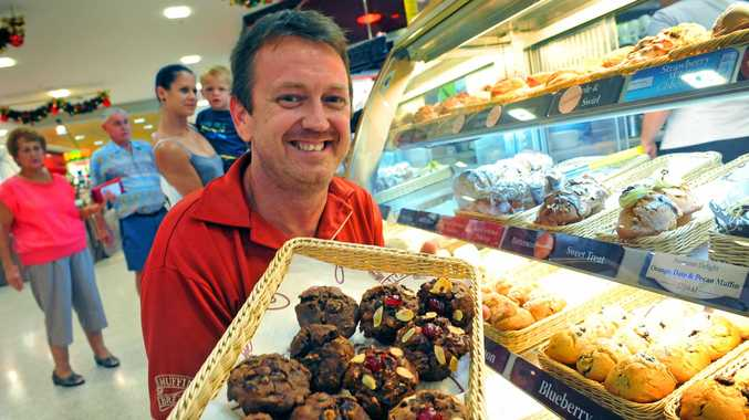 HARD TIMES: After the 2013 floods hit Bundaberg, Hinkler Central closed its doors for four months, leaving Muffin Break without an income stream. 