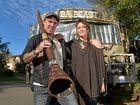 Jason Morris and his wife Topaz Morris were confronted by police at Buderim Community Kindergarten after their didgeridoo was mistaken for a gun.