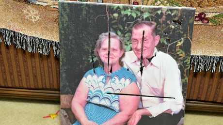 Danielle Watt's family photos were destroyed.