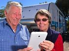NEV and Beth Abrahams have had lots of tablets, but never an electronic one.