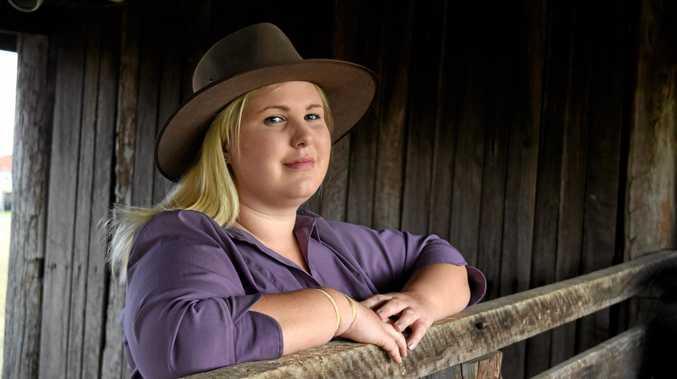 KEEN HELPER: Lowood Show Society Rural Ambassador Kate Oweczkin.