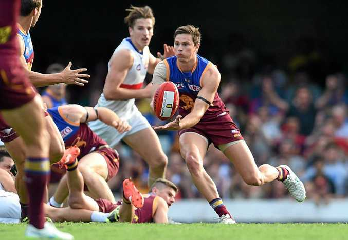 BIG DAY: Matthew Hammelmann will debut for the Brisbane Lions after starring in NEAFL.