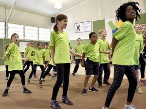 Harlaxton State School showcases its hip-hop crew