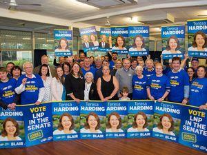 Economy, jobs focus for LNP's Harding