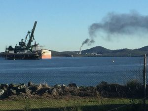 VIDEO: 'Flaring notification': Black smoke from LNG facility