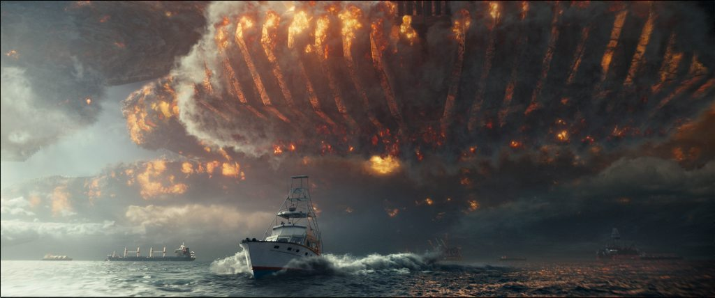 A scene from the movie Independence Day: Resurgence.