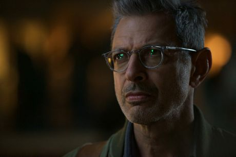Jeff Goldblum in a scene from the movie Independence Day: Resurgence.