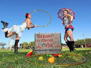 Circus workshop rolls into town