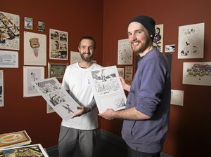 Copier Jam! brings comics to art gallery