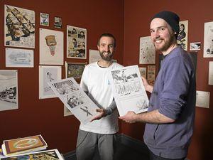 Copier Jam! brings comics to art gallery