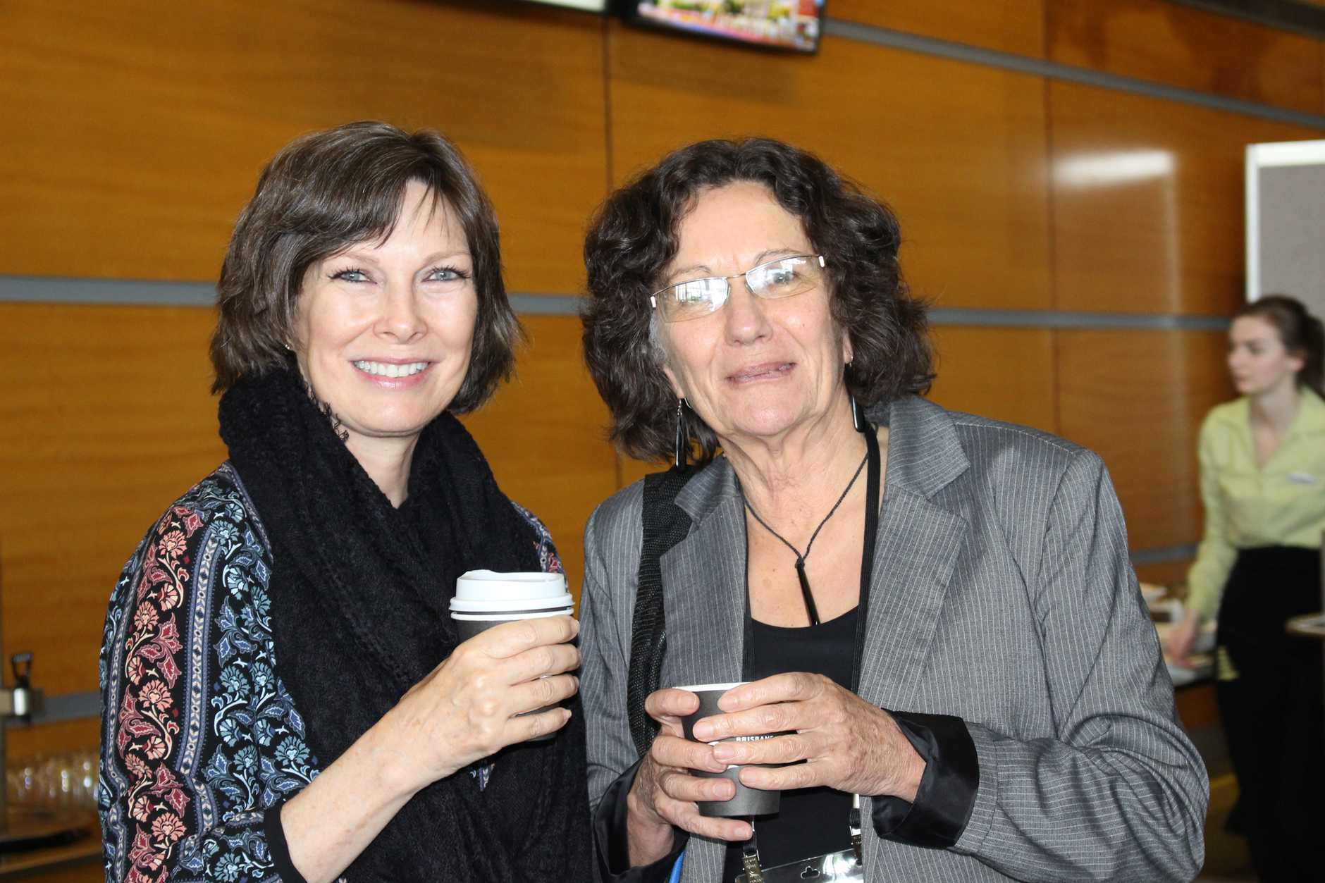 Christine Stephens and Lisa Brown at the IFA 13th Global Conference in Brisbane.