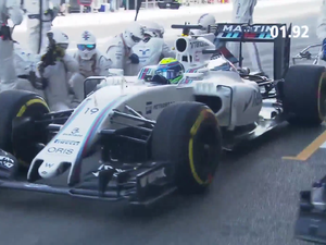 F1 pit stop in 1.92 seconds