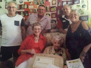 Doris celebrates 100th birthday with family